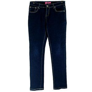 Trucci girl's blue jeans like new size 16